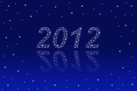 new year 2012 background Stock Photo