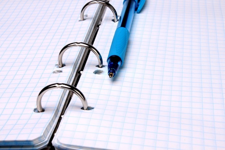 pencil and notepad