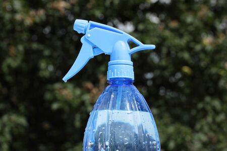 plastic sprayer for spraying in garden