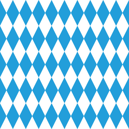 Oktoberfest Bavaria endless diamond pattern.
