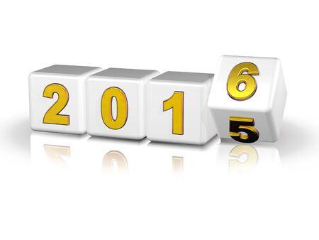 meses del a�o: 2016 cajas 3D de oro blanco