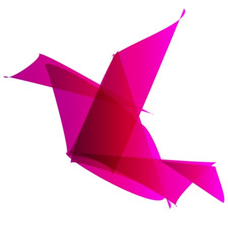 pinkbird origami
