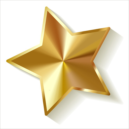 ゴールド スター ベクトル  イラスト・ベクター素材