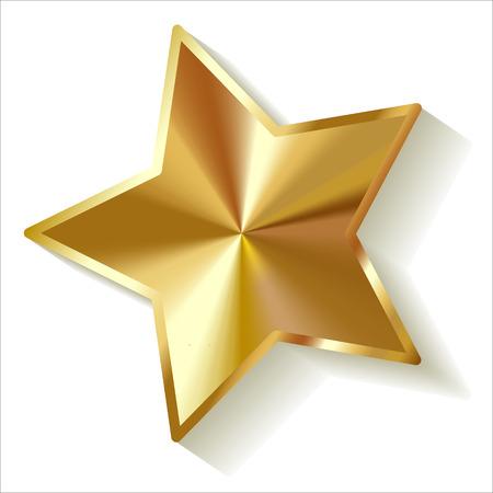 Goldstar vettore Archivio Fotografico - 44372441