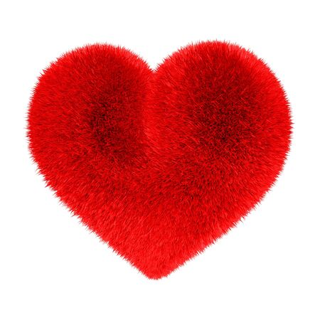 exempted female: Heart in red fur