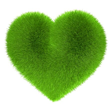 exempted female: Heart in fur Green Eco Energy Power
