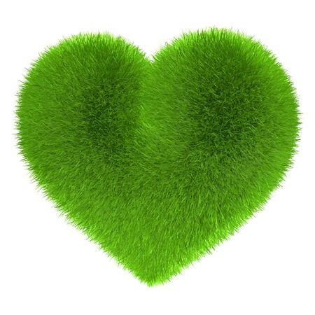 green power: Heart in fur Green Eco Energy Power