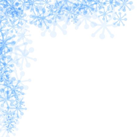 blue snowflakes: blue snowflakes on a white background Frozen