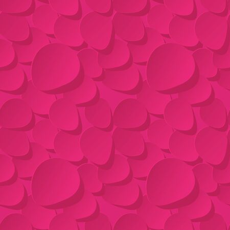 rose petals: Floral Seamless Vector Pattern 3d background with pink rose petals. Illustration
