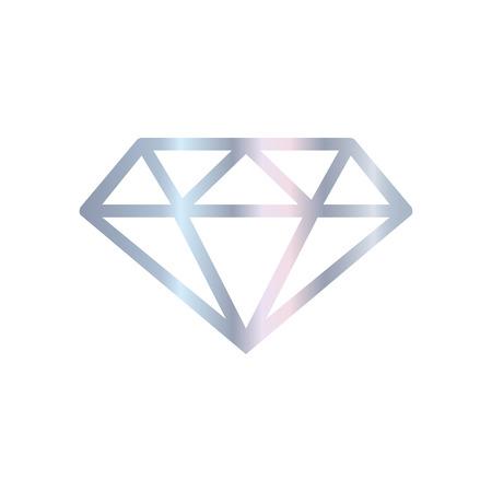 Shinny white diamond. Reklamní fotografie - 83414529