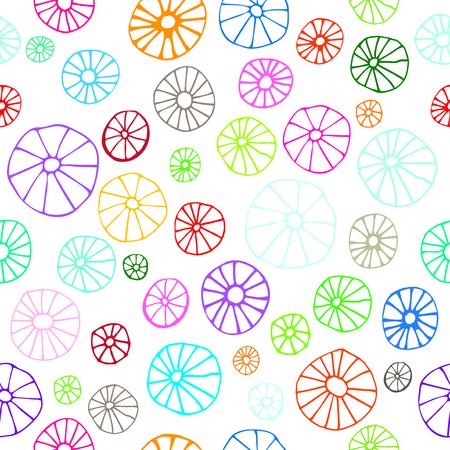 Abstract wallpaper seamless vector background Stock Illustratie