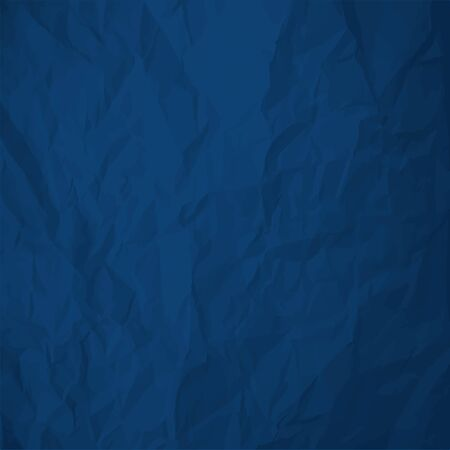 Color of the year 2020 Classic Blue crumpled paper background