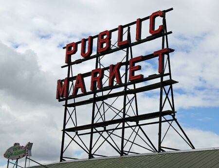 Pikes Place Market in Seattle, Washington