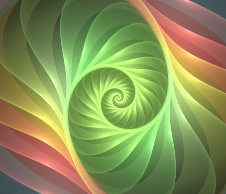 Abstract fractal  background  computer generated image Stock Photo