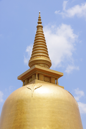 colden: Golden temple of Dambulla, Sri Lanka, Buddhist dagoba (stupa)