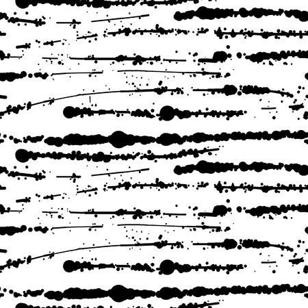 wall paint: Seamless vector black ink splash background.