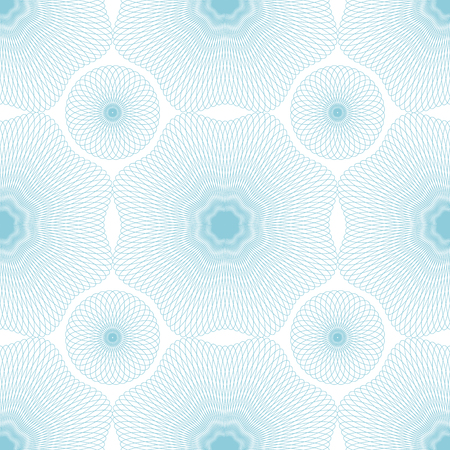 tangier: Seamless guilloche vector background. Thin wavy lines texture.