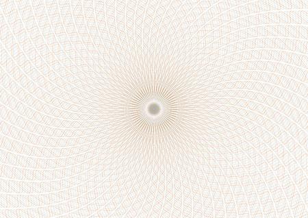 Guilloche vector background grid. Moire ornament EPS 10 Stock Photo