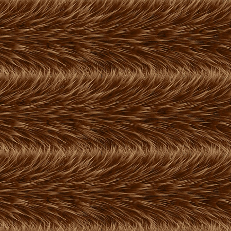 Seamless of beige vector furry pattern. Fluffy background. Safari backdrop