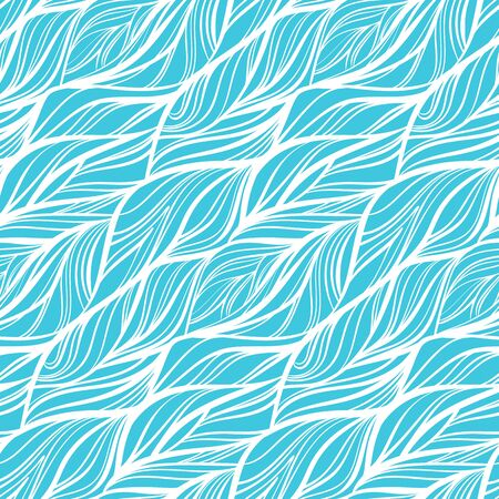Abstract ea waves seamless pattern.