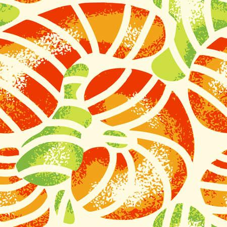 Abstract background with splashes. Textured grunge seamless pattern. Çizim