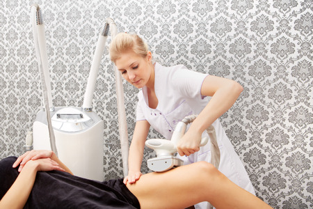 body work: specialized device for body contouring. Medical SPA.