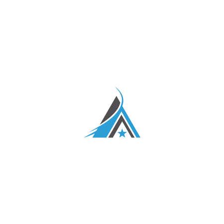 Pyramid Logo Template vector ilustration Иллюстрация