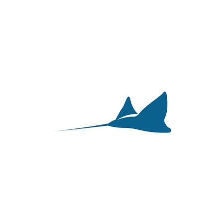 Stingray icon logo design concept template illustration vector Logo