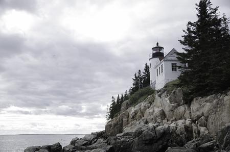Acadia Lighthouse Фото со стока