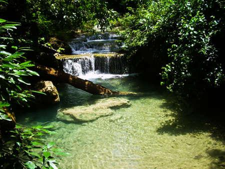 Erawan Waterfall. Kanchanaburi Stock Photo - 7354852