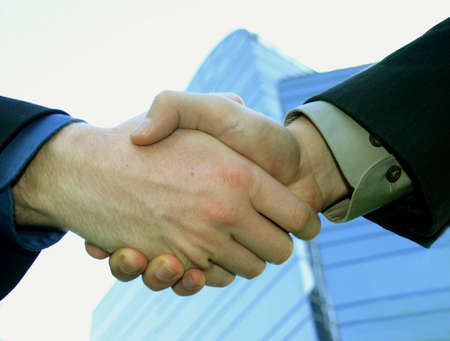 business men shaking hands Stock Photo - 234098