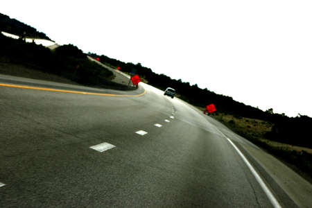 a curvy road