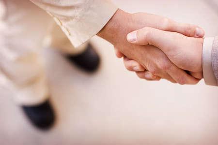 Business handshake Banco de Imagens