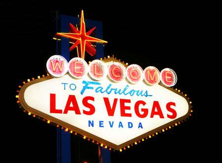 lighted: Las Vegas historic sign 3