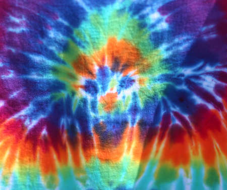 full frame view of tie dye clothing