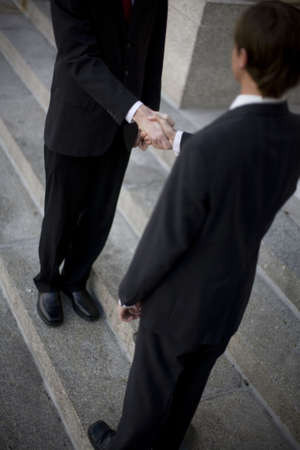 The Business of Hand Shaking photo