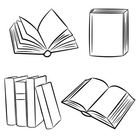 libros abiertos:  Libros