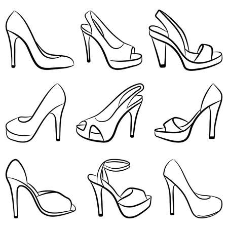 heels: Shoes