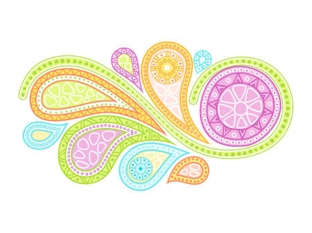 psychedelics: Abstract design element. Vector illustration.
