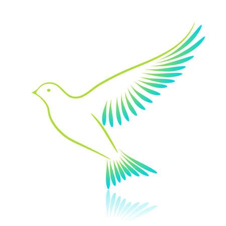 cuckoo: Cuckoo. Vector illustration. Illustration