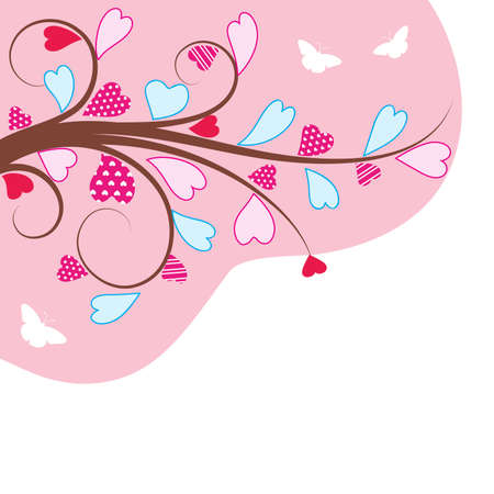 Valentine's background. Vector illustration. Vector