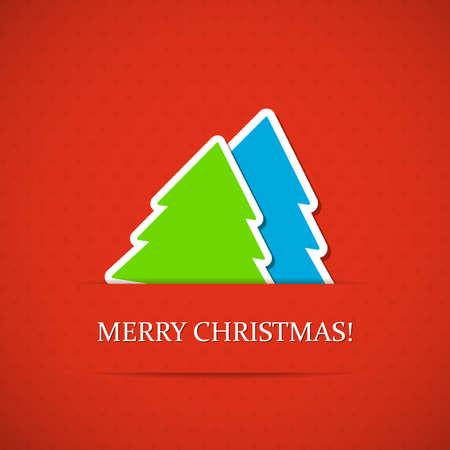 Hintergrund mit Weihnachtsbaum.