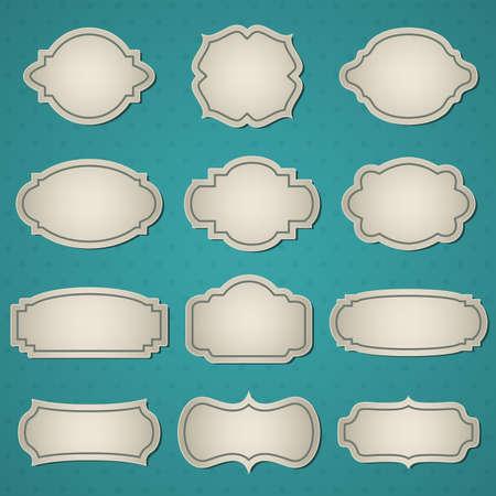A set of retro frames.