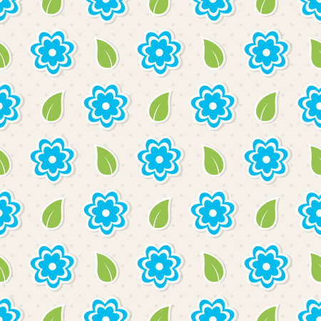 tile able: Seamless pattern with flowers  illustration