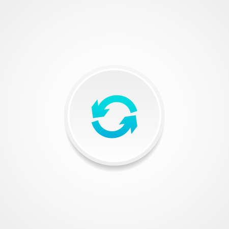 Web button on a white background. Vector illustration. Stock Vector - 21533170