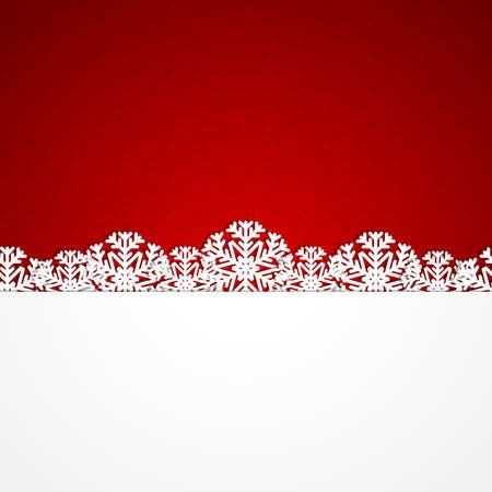 christmas ribbon: Christmas background