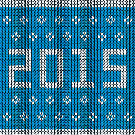 knitted background: New year knitted background