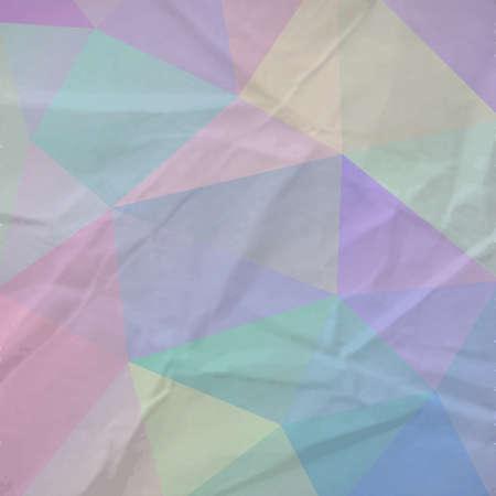 paper background: De retro driehoek papier achtergrond.