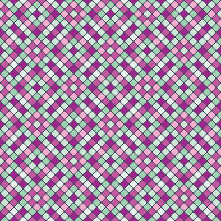 Vector nahtlose Muster mit bunten Mosaik Standard-Bild - 52469491
