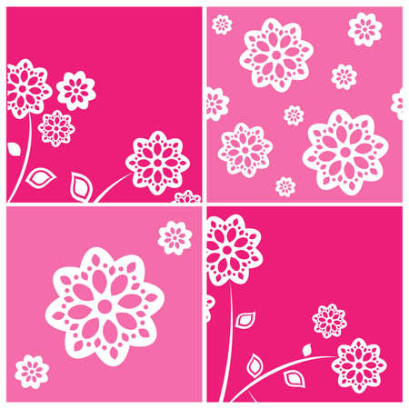 tile able: Abstract backgrounds set
